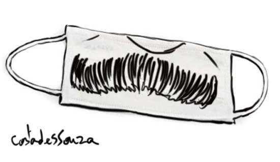 máscara sarney