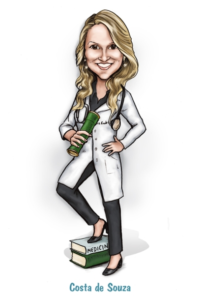 caricatura formatura medicina online