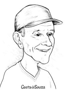 caricatura preto branco online foto