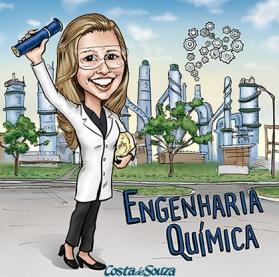 caricatura formatura engenharia quimica