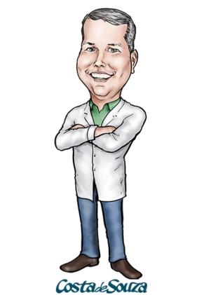 caricatura quimica química professor
