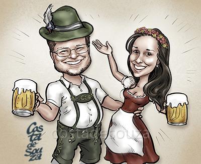 caricatura-oktoberfest-quadro