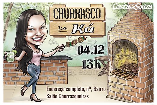 caricatura-aniversario-churrasco