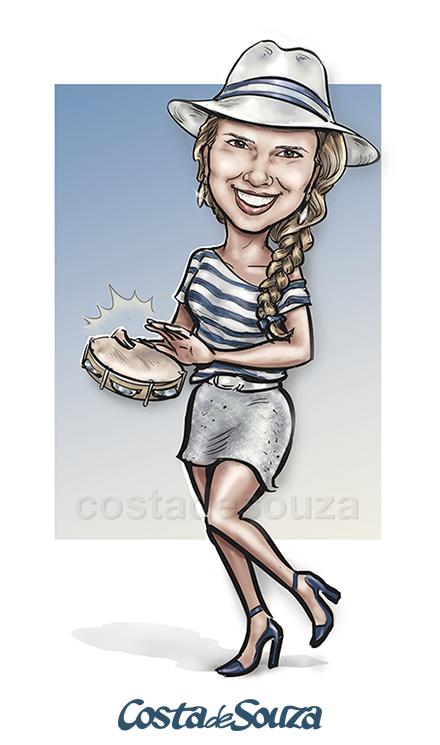 caricatura-aniversario-samba