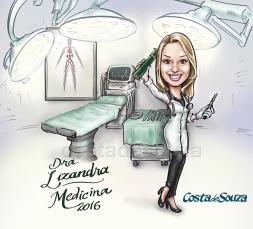 caricatura-formatura-de-medicina