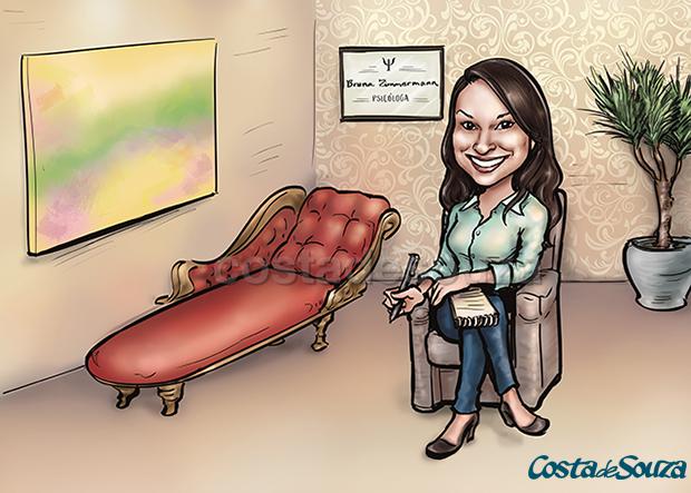 caricatura-presente-quadro-psicologa