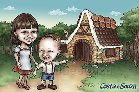 caricatura-crianca-infantil-quadro-quarto