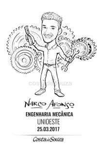 caricatura formatura engenharia mecânica