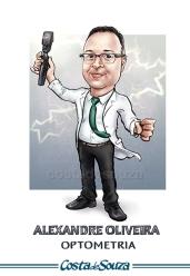 caricatura formatura medicina optometria