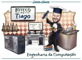 caricatura formatura engenharia da computação