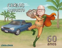 caricatura aniversário 60 anos