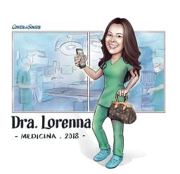 caricatura formatura medicina cirurgia
