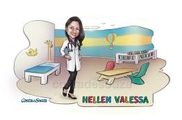 caricatura formatura pediatria