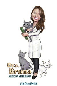caricatura formatura medicina veterinária