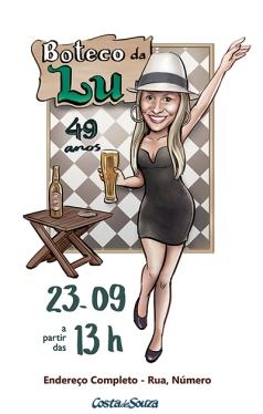 convite-aniversc3a1rio-boteco-caricatura