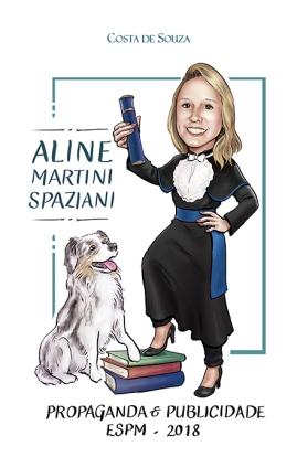 caricatura formatura publicidade graduation