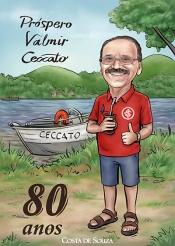 caricatura aniversário 80 anos pescador