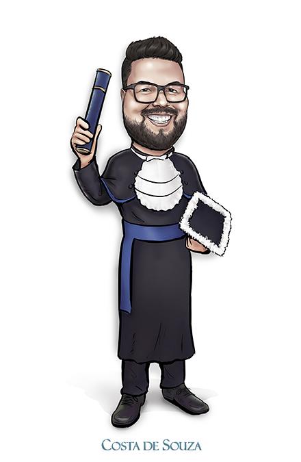 caricatura formatura graduation caricature