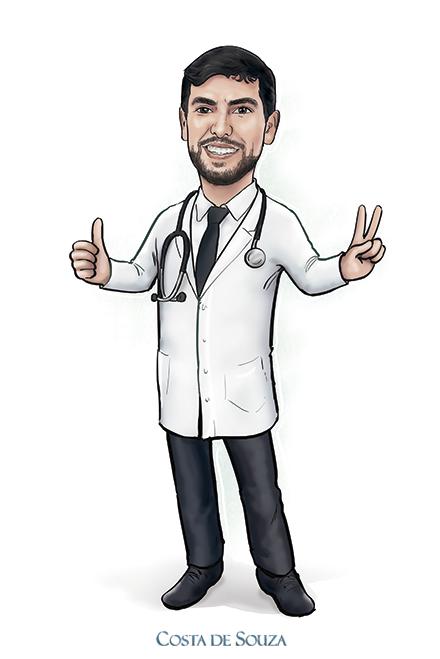 caricatura formatura medicina caricature