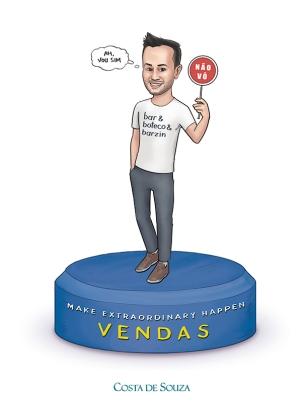 caricatura digital evento